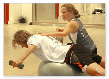Kraft und Core Training