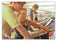 Personal Trainer Laufübung