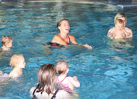 Schwimmgruppe Wassergewöhnung für Babys